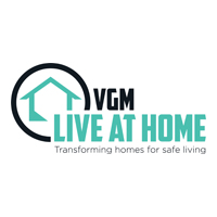 VGM Live at Home Logo